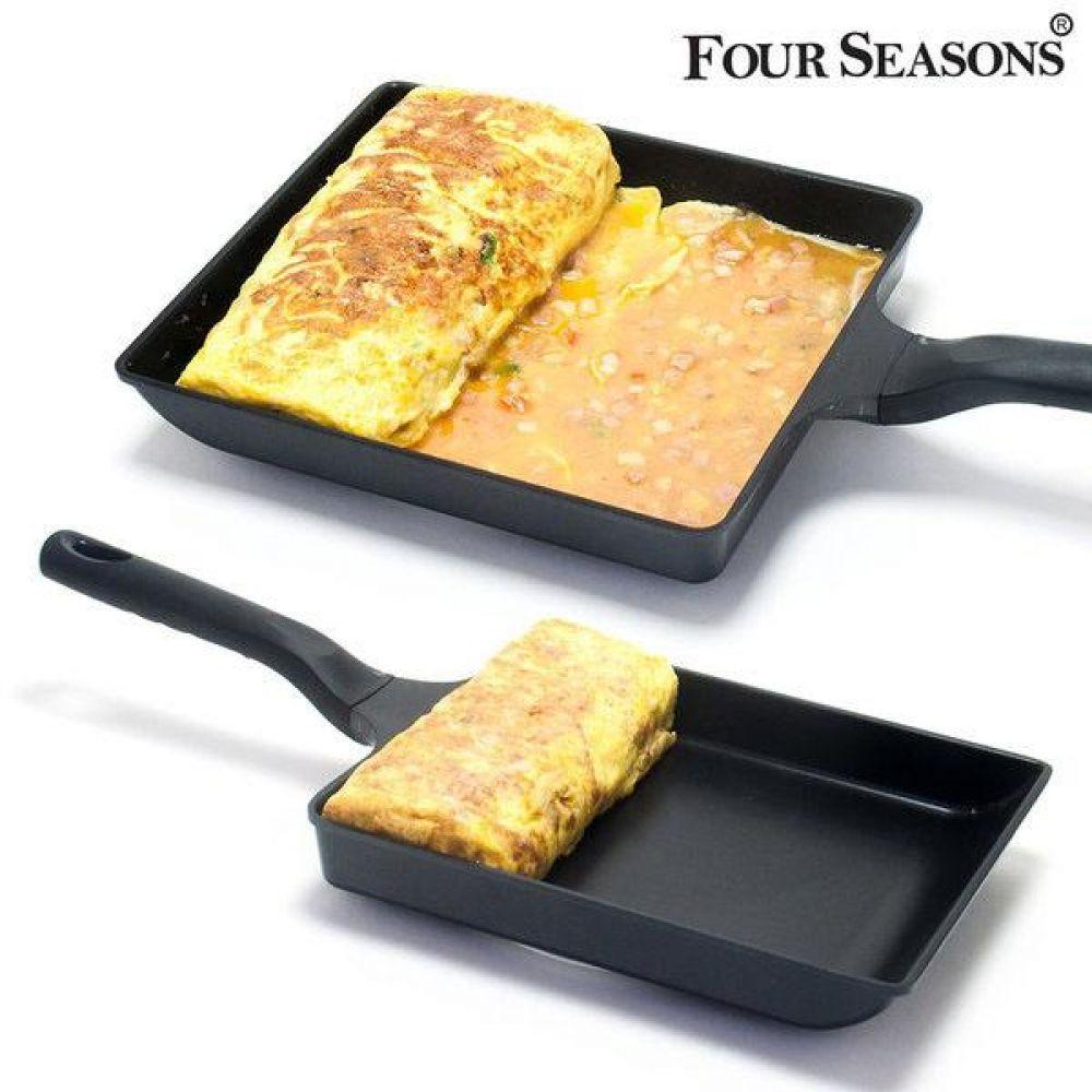 코리아 포시즌 멀티 계란말이지단팬 계란말이후라이팬 달걀말이후라이팬 달걀팬 계란팬 주방용품