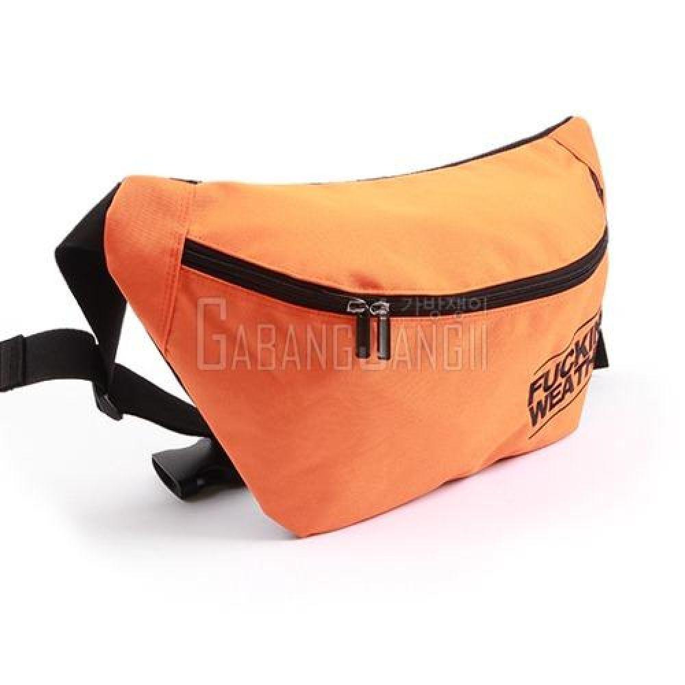 VL_MVV113 캐주얼 넉넉한 컬러 슬링백 스포츠가방 운동가방 힙색 편한가방 데일리백