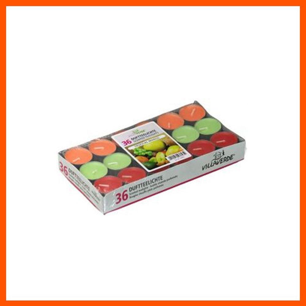 아로마 캔들 트로피칼 틴형 (36개입) 캔들 디퓨저 아로마캔들 향초 홈데코 향수캔들 집들이선물 파티캔들 아로마향초 독일캔들