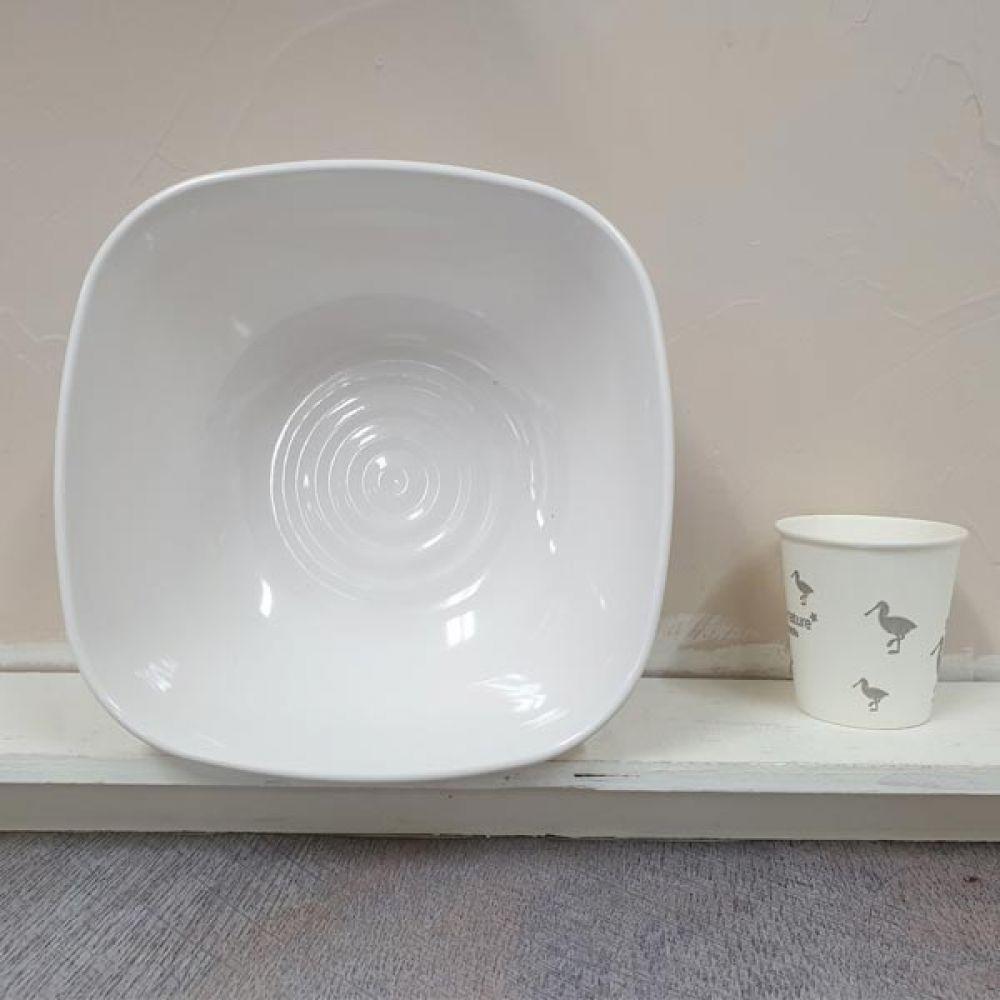 웰빙 사각 9볼 접시 그릇 면기 주방용품 그릇볼 그릇 볼 그릇볼 접시 면기