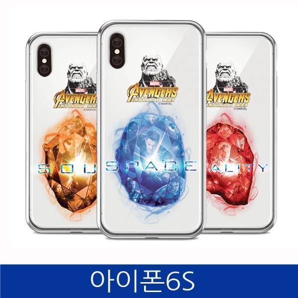 몽동닷컴 아이폰6S. 인피니티 워 스톤 투명 폰케이스 iPhone6S case 핸드폰케이스 스마트폰케이스 마블케이스 인피니티워케이스 아이폰6S케이스