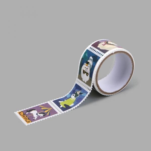몽동닷컴 Masking tape stamp - 11 Wonderland 테이프 마스킹테이프 종이테이프 종이마스킹테이프 데코 데코레이션 리폼 데코스티커 스티커 꾸미기 포인트 데일리라이크 디자인문구