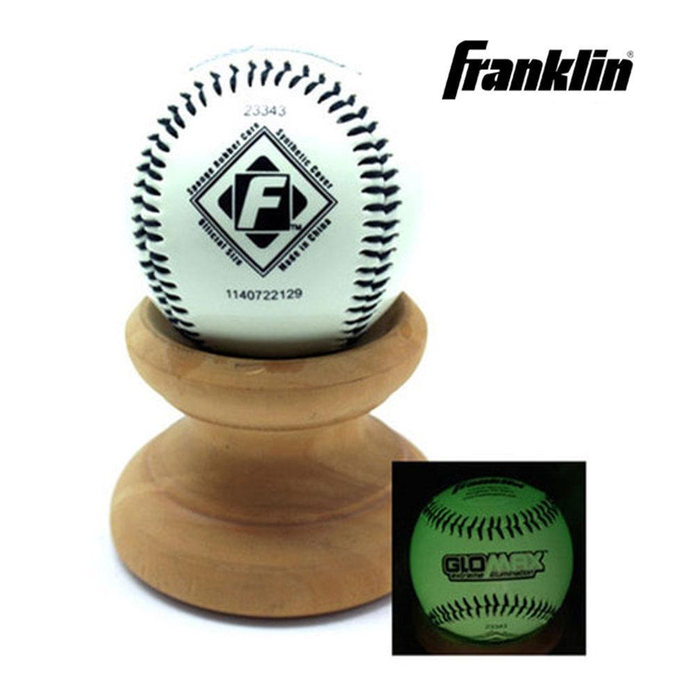 프랭클린 야광 야구공 1943 (23343) 야구공 야구볼 야구 스포츠 운동