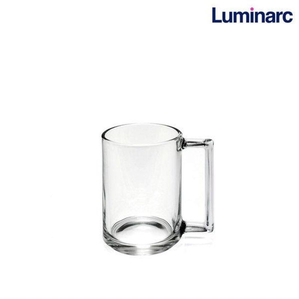 루미낙 피트니스 내열강화머그 90ml (L7134) 1p 머그컵 유리컵 도자기컵 머그 내열강화 컵
