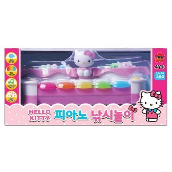 대영 헬로키티 피아노 낚시놀이(32089) 장난감 완구 토이 남아 여아 유아 선물 어린이집 유치원