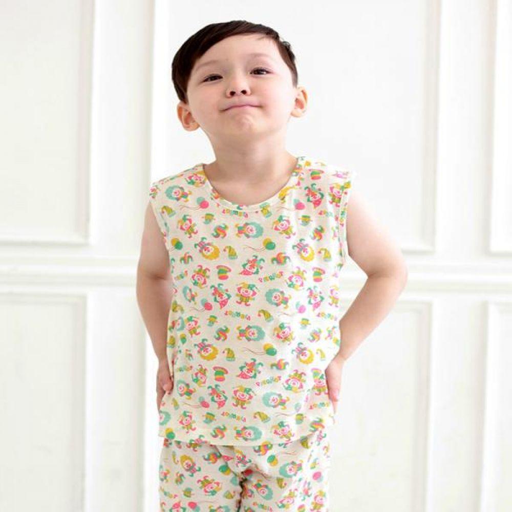 15여름 무형광 나시 삐에로 유아복의류 내복 실내복 잠옷 나시