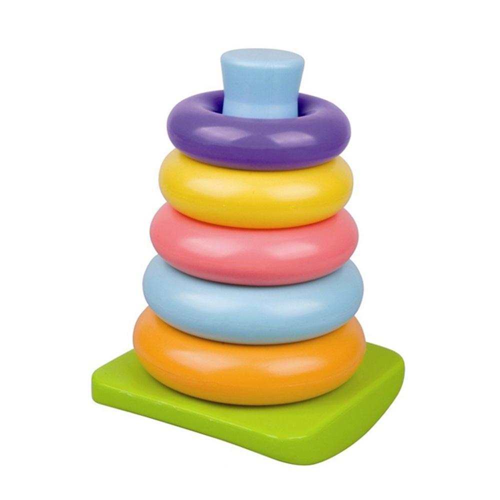선물 2세 유아 장난감 링쌓기 5P 2살 블럭 어린이 퍼즐 블록 블럭 장난감 유아블럭