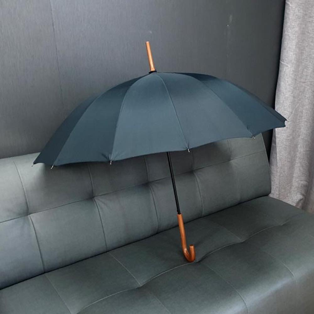 장우산 블랙 자동 곡자무지 큰우산 남성장우산 고급우산 장우산 성인용우산 여성우산 선물용우산