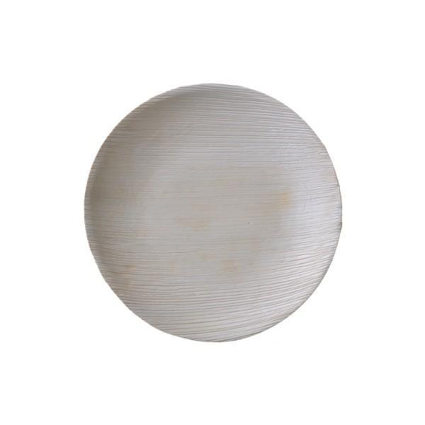 본플라 천연야자나무 23cm 일회용 원형접시 (6개) 주방소품 일회용접시 피크닉 포장용기 집들이