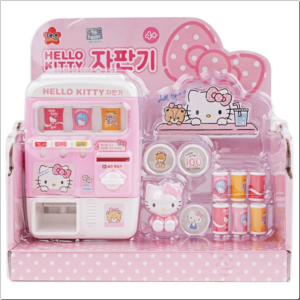 헬로키티 자판기 (232225) 캐릭터 캐릭터상품 생활잡화 잡화 유아용품