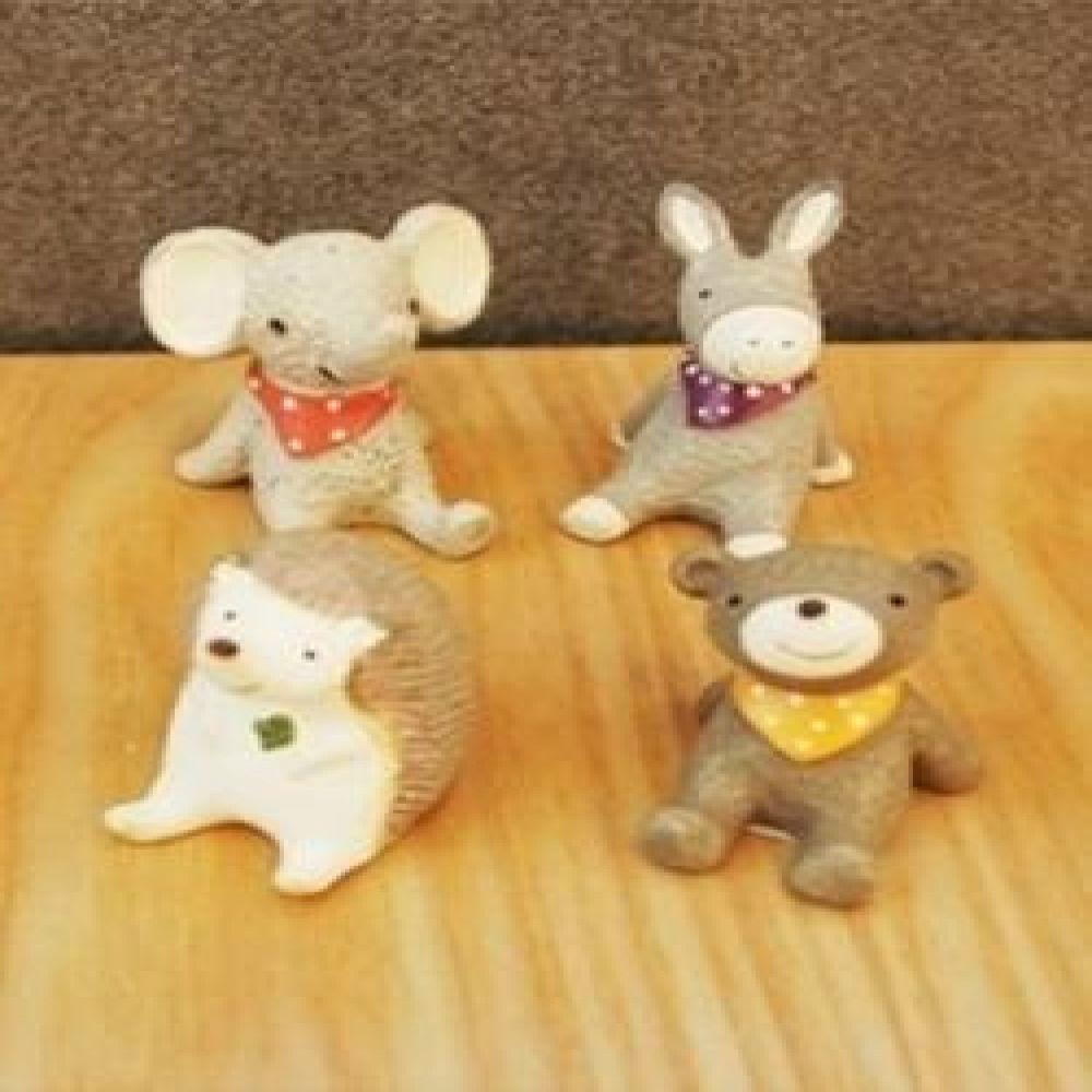 아일랜드 팜 4종 미니어처소품 장식소품 인테리어소품 동물미니어처 장식인형