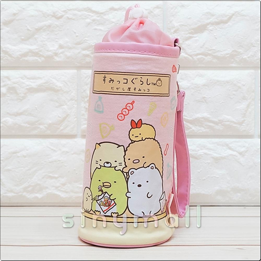 스밋코구라시 보틀홀더 (물병주머니)(스웨트-핑크) 캐릭터 캐릭터상품 생활잡화 잡화 유아용품