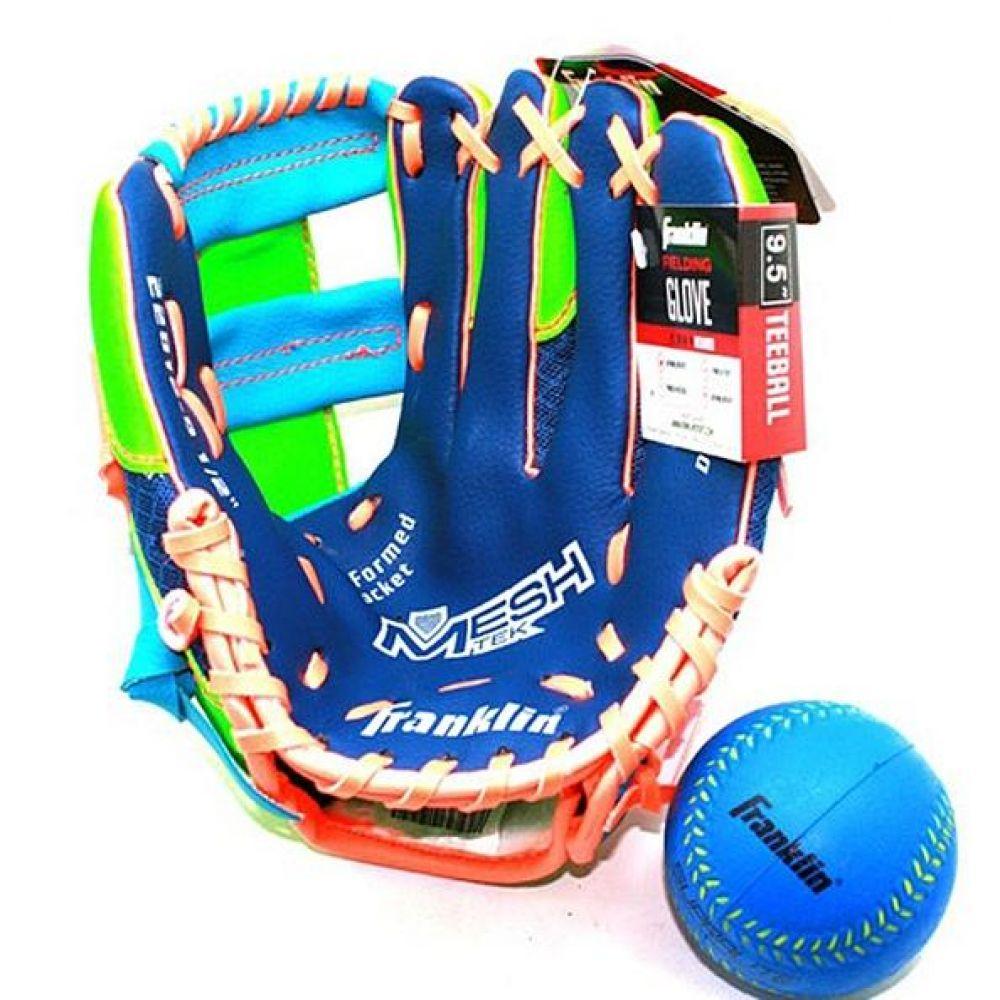 프랭클린 아동 티볼 글러브 볼 세트 블루 990g 야구용품 야구글러브 유소년글러브 티볼글러브 유소년티볼글러브 어린이티볼글러브