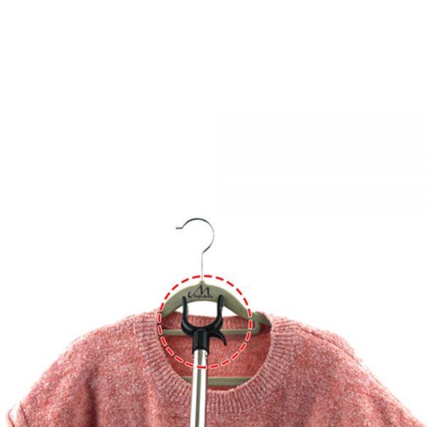 MWSHOP 가제트손 옷걸이 집게 옷봉 옷걸이스틱 옷걸이봉 엠더블유샵