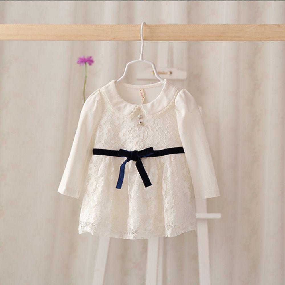 럭셔리 레이스 원피스 아이보리 (12-36개월) 202242 원피스 아기옷 유아옷 신생아옷 엠케이 조이멀티