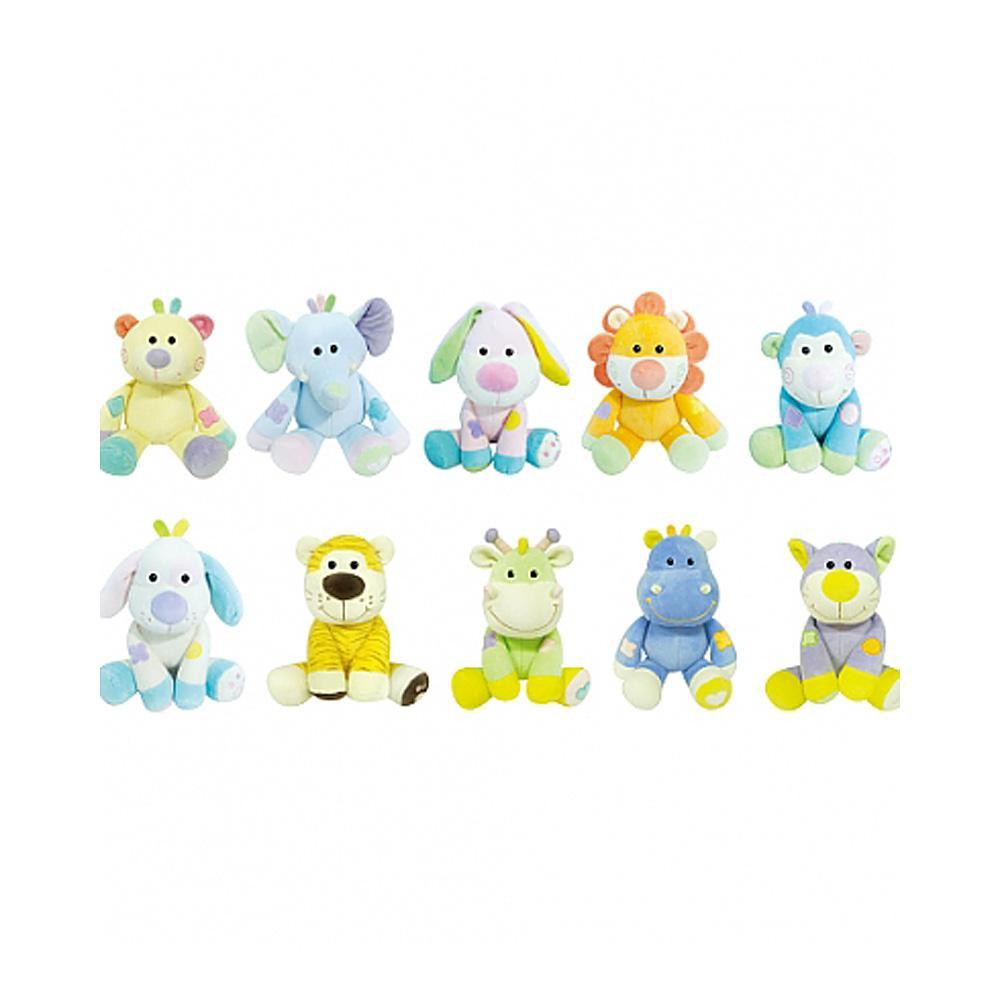 어린이집 어린이 유아 교구 동물 인형 소 10종 세트 유아원 장난감 2살장난감 3살장난감 4살장난감