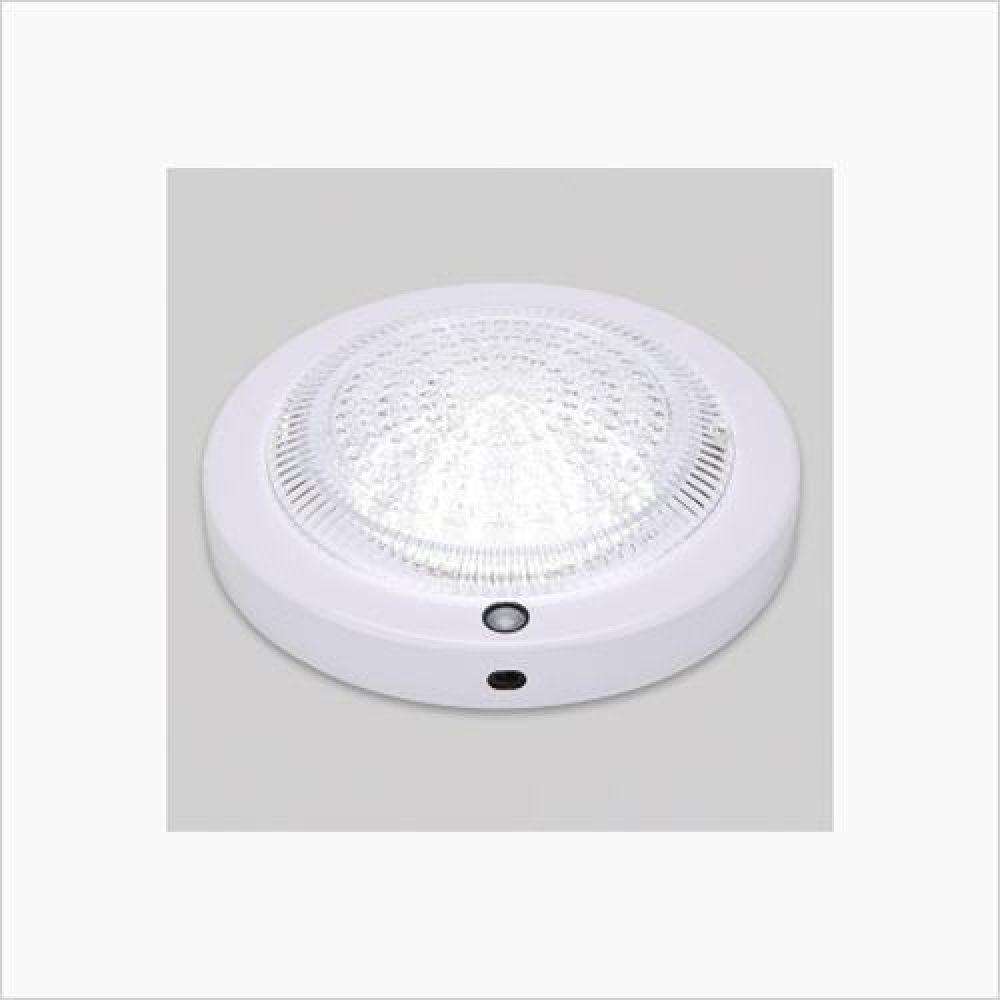인테리어조명 원형 LED센서등 롱런 15W 주광색 철물용품 인테리어조명 LED벌브 LED전구 전구 조명 램프 LED램프 할로겐램프 LED등기구