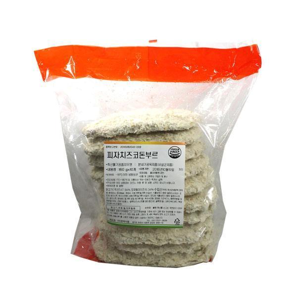 (냉동)피자치즈코돈부르1.6kg(10입) 피자치즈 코돈부르 돈까스 식자재 식재료