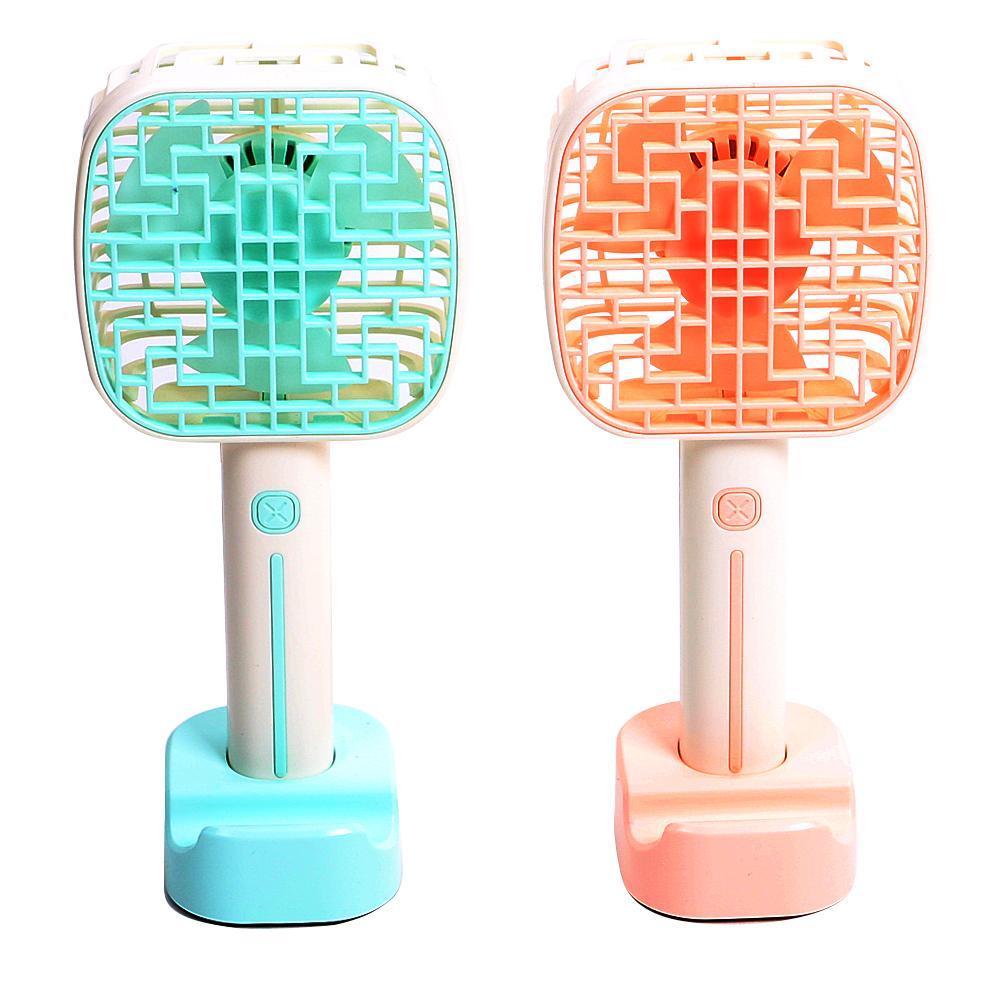 휴대용 LED 사각 핸디 선풍기