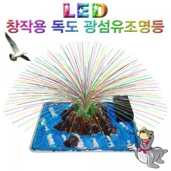 LED 창작용 독도 광섬유조명등 과학교구 두뇌발달 DIY 과학키트 만들기 향앤미