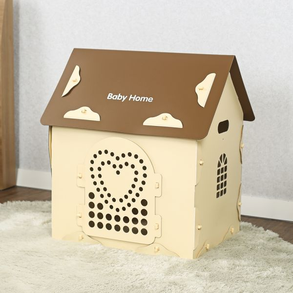 JHC컴퍼니 베이비홈 조립식 애견하우스(66 70 50cm) 강아지용품 고양이용품 애견용품 애완동물 애완동물용품