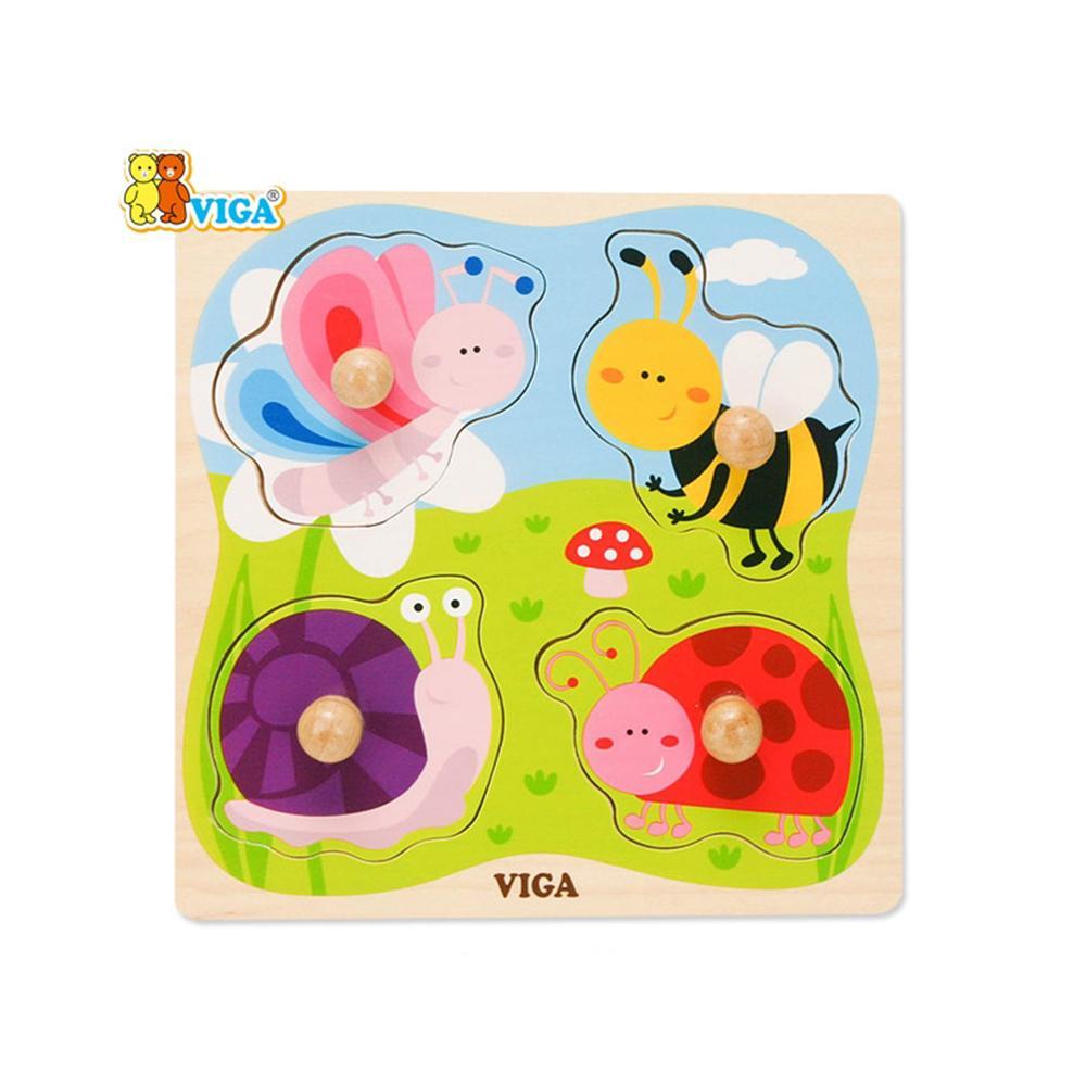 장난감 유아 어린이 놀이 베베꼭지 퍼즐 곤충 아이 퍼즐 블록 블럭 장난감 유아블럭