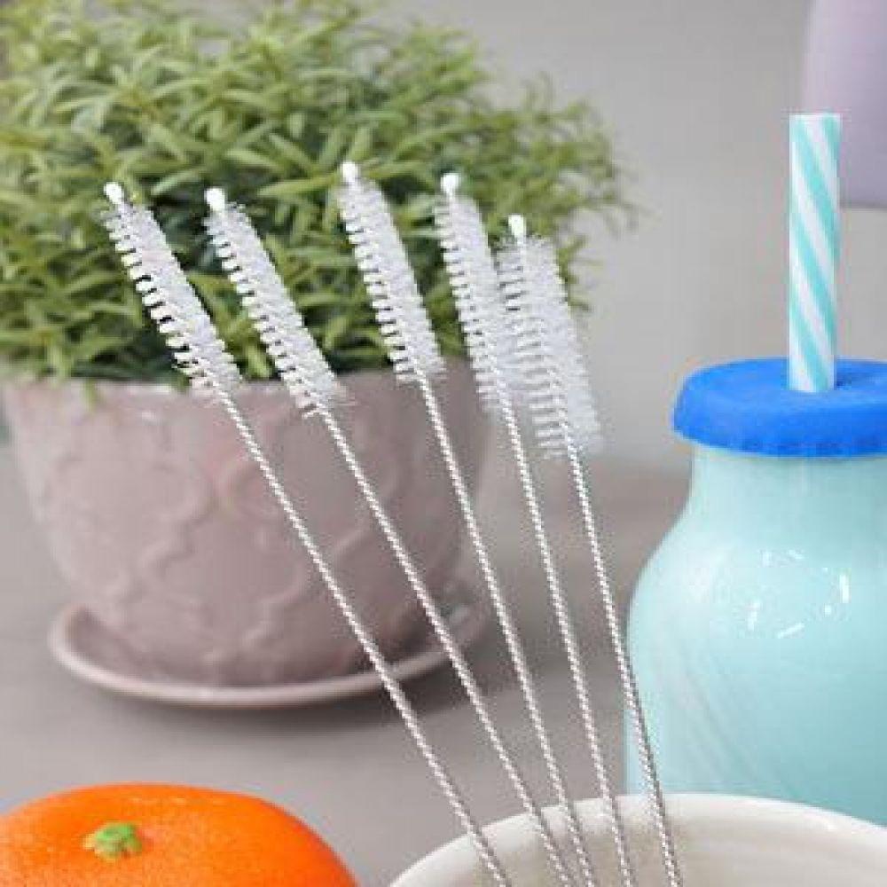 빨대솔 5P 주방소품 주방용품 세척기구 세척솔 설거지소품