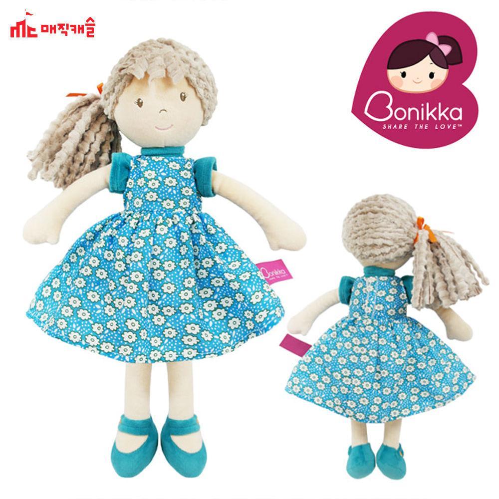 매직캐슬 보니카소녀 청녹드레스 (D6600-7) 인형 강아지인형 장난감 완구 유아완구
