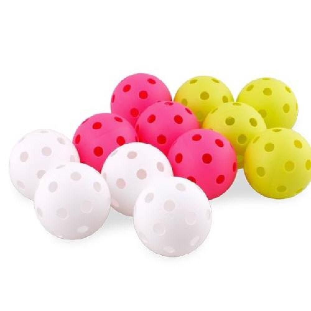 스타 플로어볼 공 색상랜덤 스포츠용품 운동용품 실내체육용품 체육놀이 어린이스포츠놀이 플로어볼공