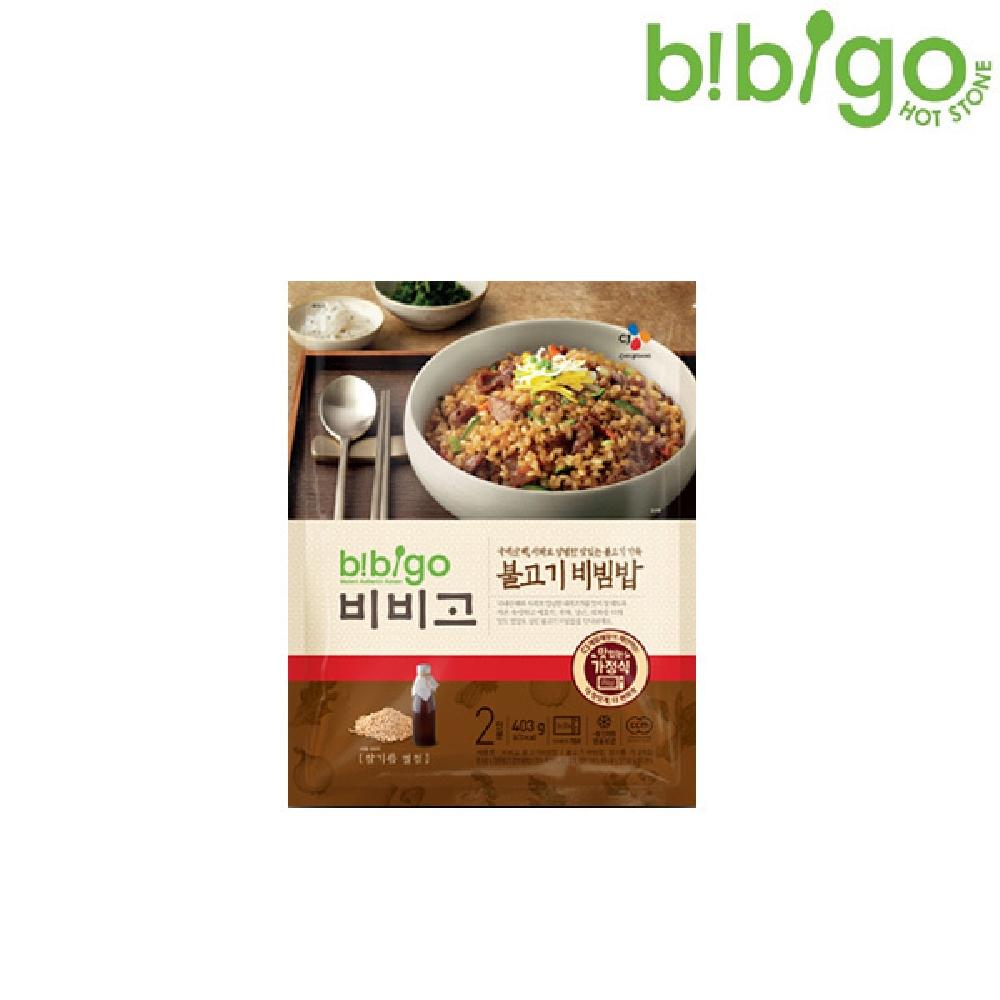 비비고 불고기 비빔밥 403g 냉동밥 즉석밥 냉동비빔밥 즉석비빔밥 즉석요리