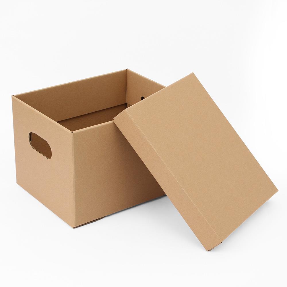 크라프트 29.5x23cm 종이정리함 DIY 종이박스 종이박스 종이정리함 정리박스 수납종이박스 종이수납함