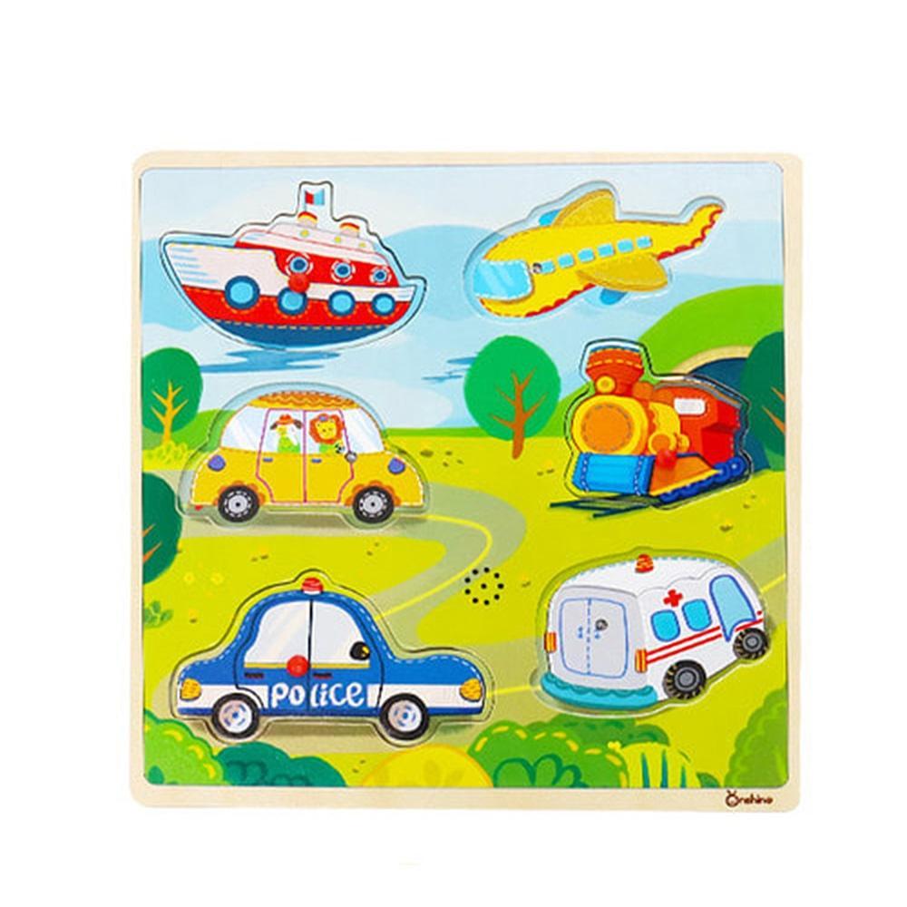 선물 학습 놀이 유아 유아원 사운드 퍼즐 교통 아이 퍼즐 블록 블럭 장난감 유아블럭