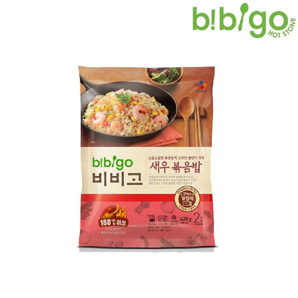 비비고 새우 볶음밥 420g 즉석조리볶음밥 냉동밥 즉석밥 간편조리볶음밥 즉석볶음밥