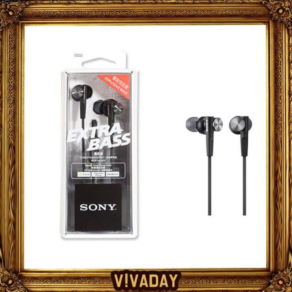 BN SONY 소니 MDR-XB50AP 스마트폰통화 헤드폰 헤드셋 라디오 이어폰 이어셋 통화 오디오 캠핑 등산 낚시