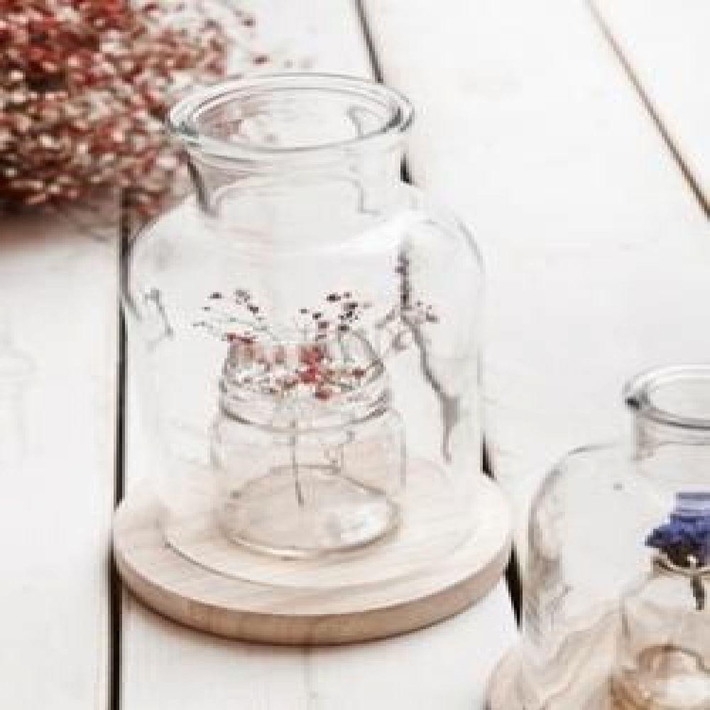 컨츄리 유리화병 2p set (L) 유리꽃병 빈티지꽃병 빈티지소품 장식소품 인테리어소품