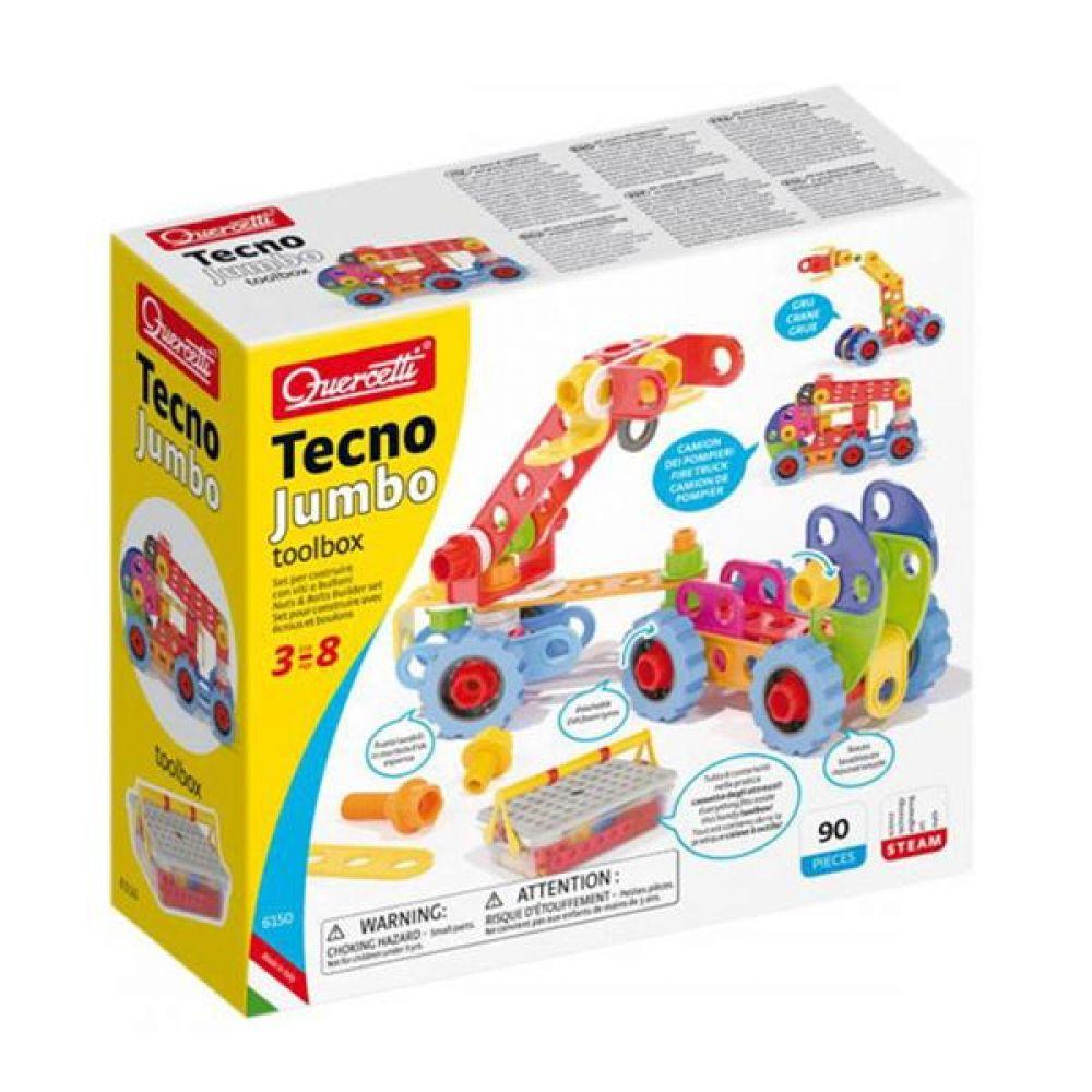 코체티 테크노점보 툴박스 90P 만들기 놀이 어린이블록 유아블록 블록놀이 창의력놀이 어린이집중력 블럭끼우기