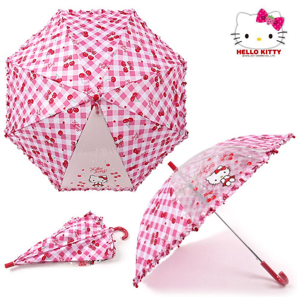 성창 키티 47 체리 우산 어린이 우산 아동우산 아동 캐릭터