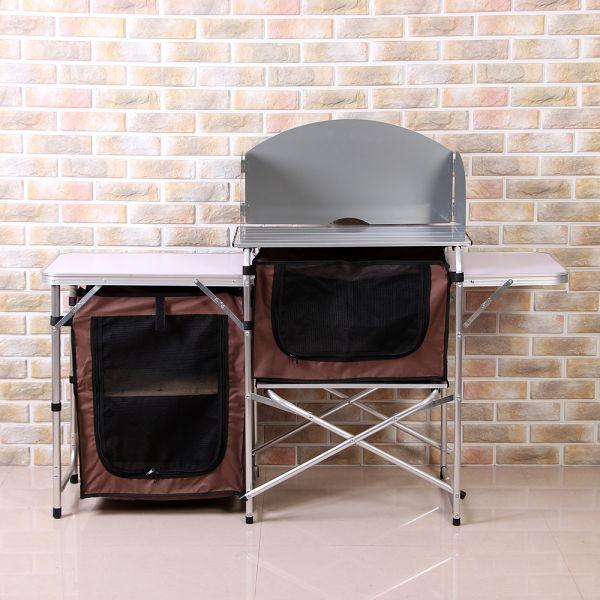 이지캠프 키친 요리 테이블(115 71cm) 캠핑용품 테이블 캠핑테이블 요리테이블 키친테이블