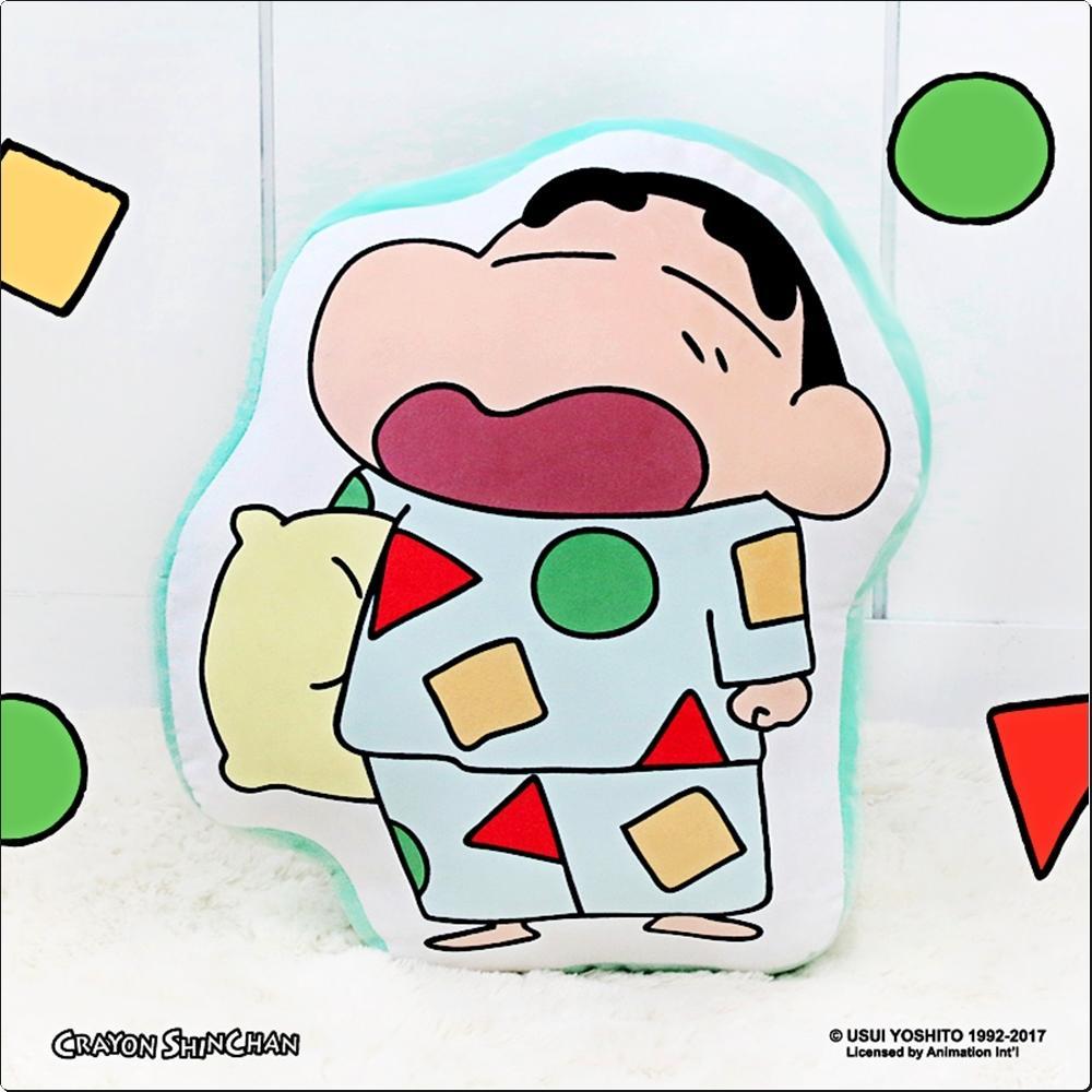 짱구 파자마 라인프린트 쿠션 (버전4)(590655) 캐릭터 캐릭터상품 생활잡화 잡화 유아용품