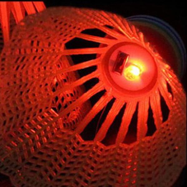 배드민턴 야광 LED 셔틀콕 2P 한세트 주야간 사용
