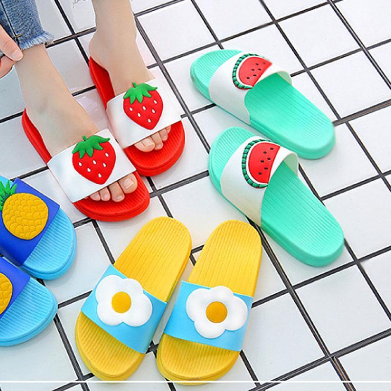 여성 과일 슬리퍼 딸기 계란 수박 wd05254 여자신발 여성신발 패션화 패션신발 슬리퍼