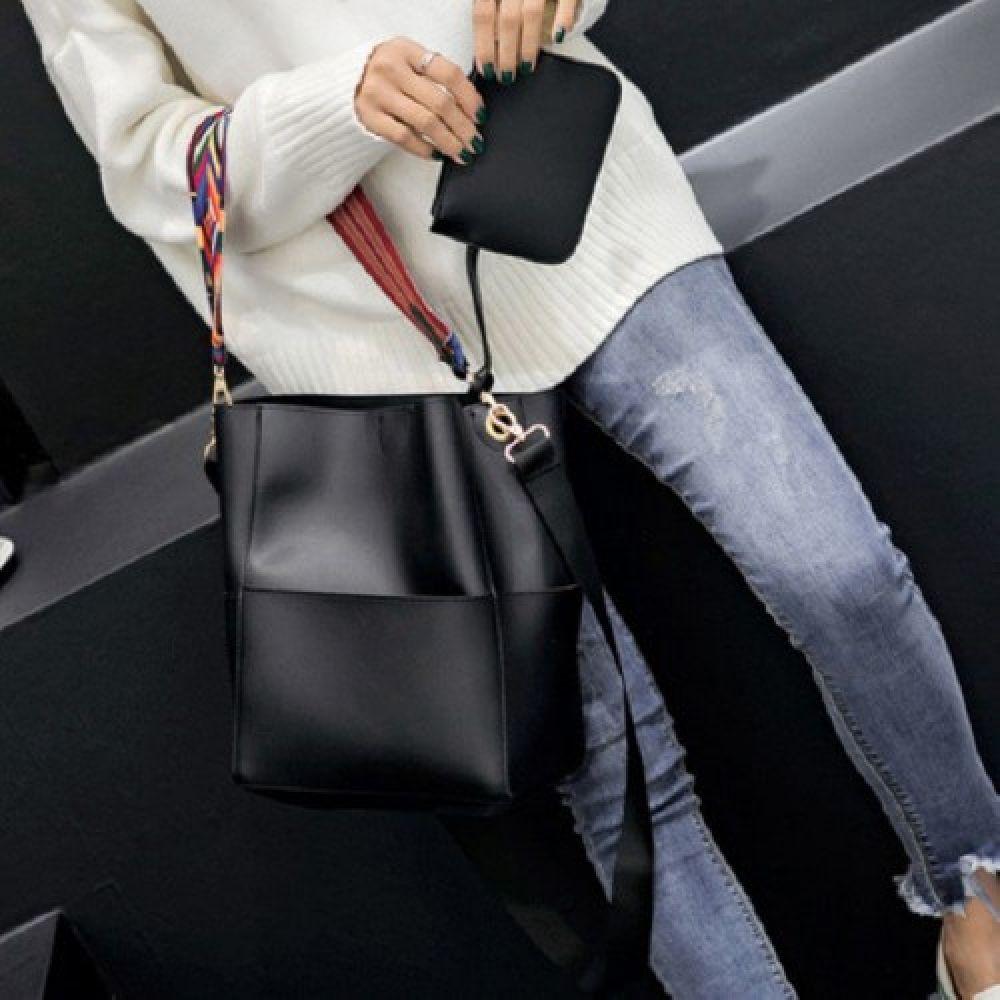 GnJ 예쁜끈 숄더백 지갑 앤 에코백 여성숄더백
