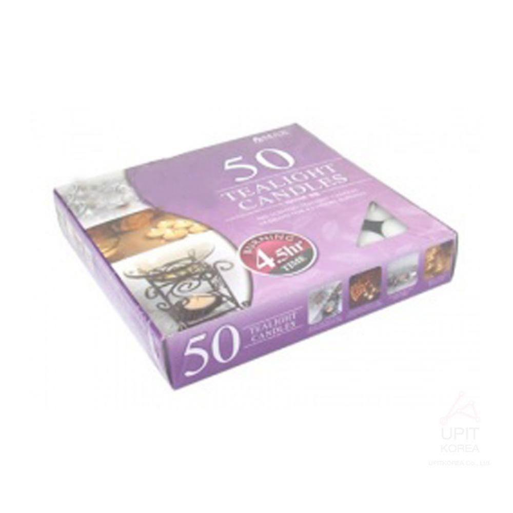 티라이트캔들50PCS(4.5시간) 생활용품 가정잡화 집안용품 생활잡화 기타잡화