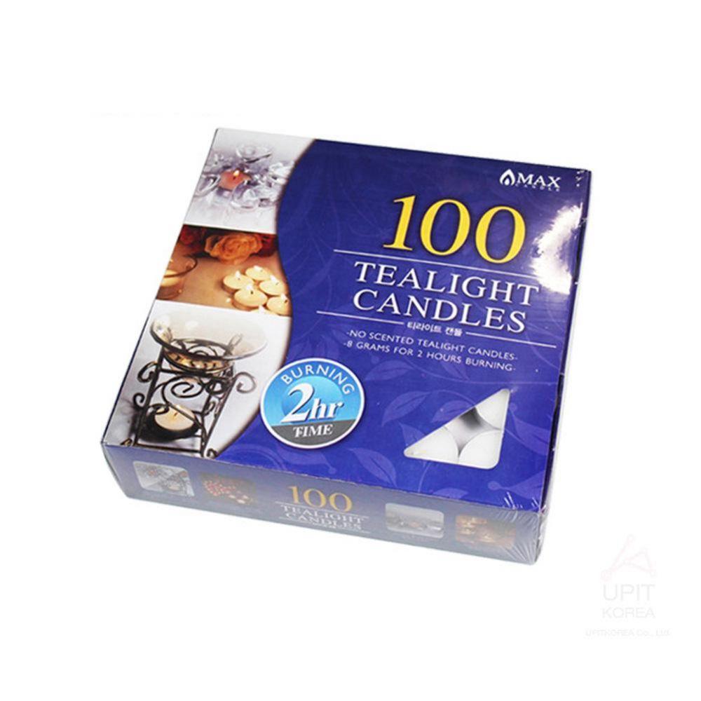 티라이트캔들100PCS(2시간) 생활용품 가정잡화 집안용품 생활잡화 기타잡화