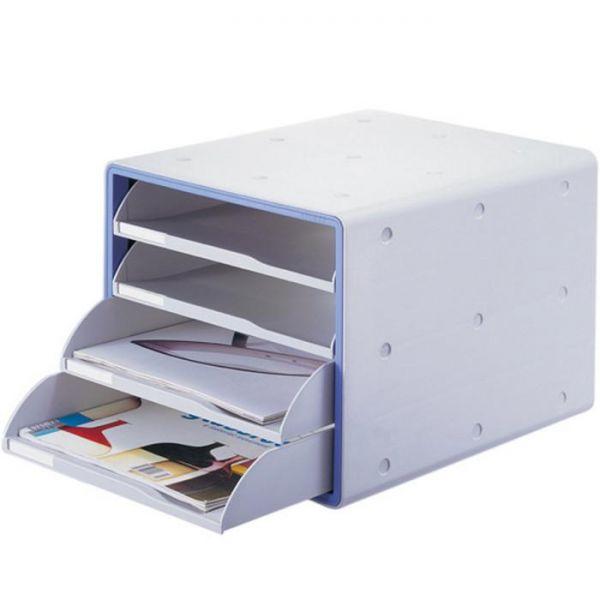 럭스 오픈형 서류함 13105 시스맥스 사무용품 다용도함 사무실 사물함 정리함 다용도 멀티박스 오픈형 서류함