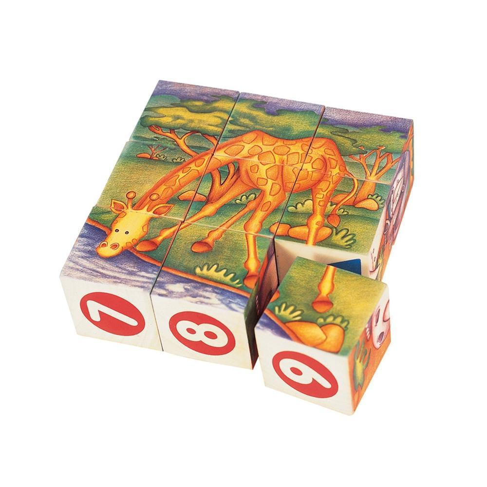 선물 3살 4살 장난감 큐브 블록 사파리 퍼즐 블럭 장난감 3살장난감 4살장난감 5살장난감 5세장난감