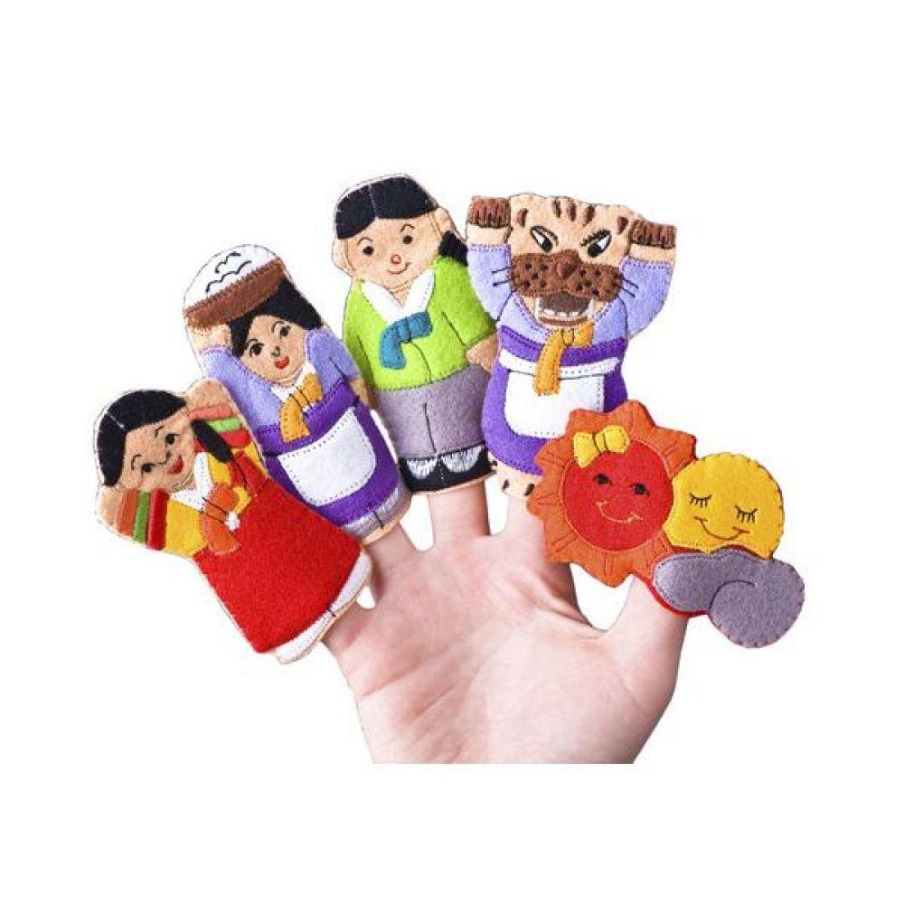 손가락 인형 해님달님 완구 문구 장난감 어린이 캐릭터 학습 교구 교보재 인형 선물