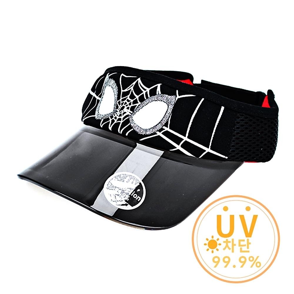 스파이더맨 블랙 UV차단썬캡 (바이저/모자)(753740) 잡화 생활잡화 캐릭터 캐릭터상품 생활용품