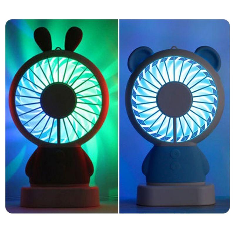 타타팬 휴대용 LED선풍기 핸디 선풍기 휴대용 핸디형 탁상형 미니 선풍기 판촉물 사은품 답례품