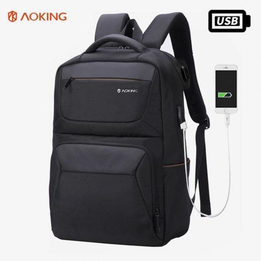 KJ_FKK013 디자인 포켓 USB백팩 데일리가방 캐주얼백팩 디자인백팩 예쁜가방 심플한가방